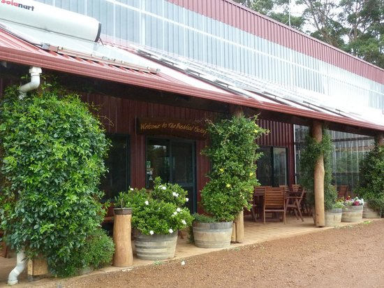 The Bushfood Factory and Cafe : Bush Food Café frontage
