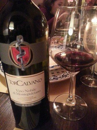 Antica Trattoria Il Barrino: nice wine selction