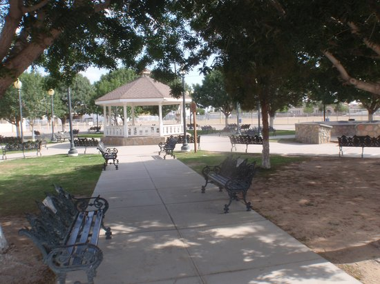 San Elizario Historic District: Veterans gazebo