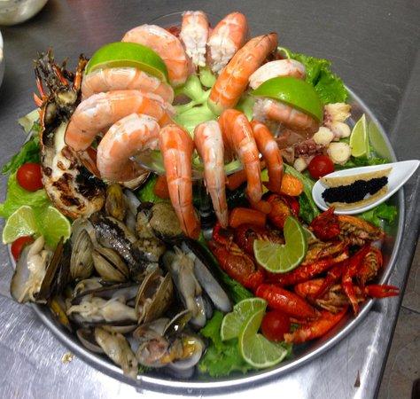 Z Gastro Bar: Fruits de Mer... the best of the best!!