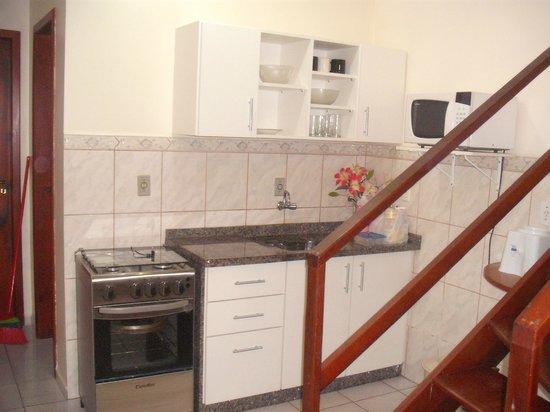Residencial Mecohue Em Bombinhas: Cocina, super equipada