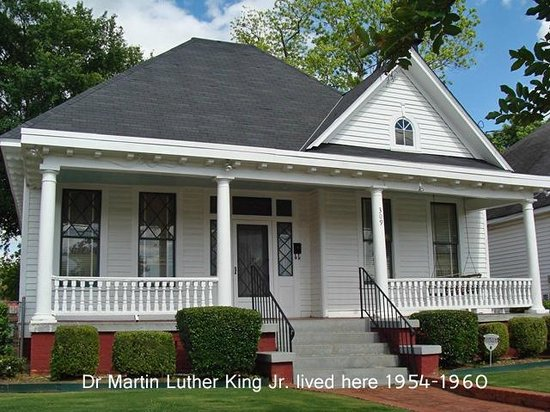 Dexter Parsonage Museum - Dr. Martin Luther King home: front of the house