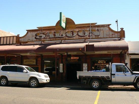 Bojangles Saloon & Restaurant. : Exterior
