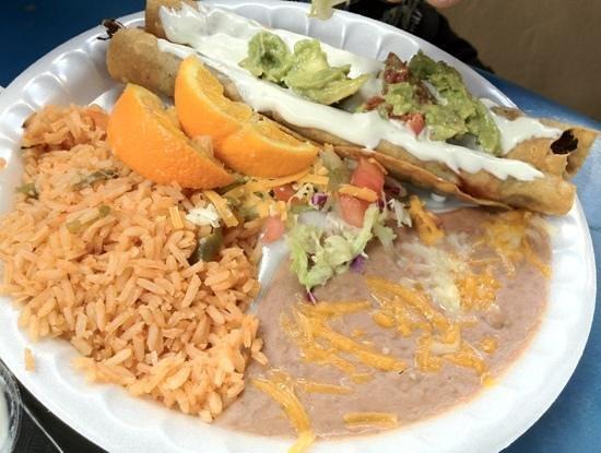 Azteca Bakery Mexican Food Best Flautas