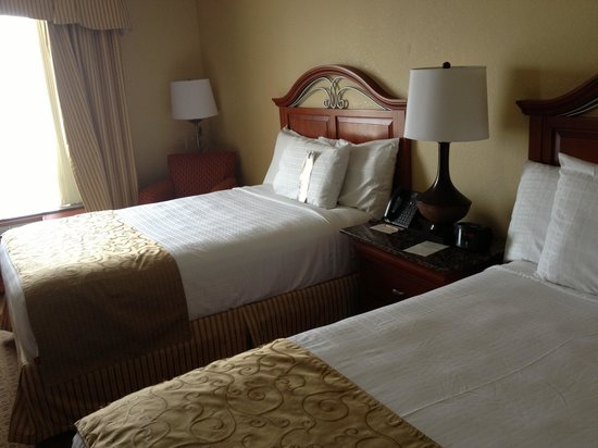 Rosen Centre Hotel: Comfortable beds