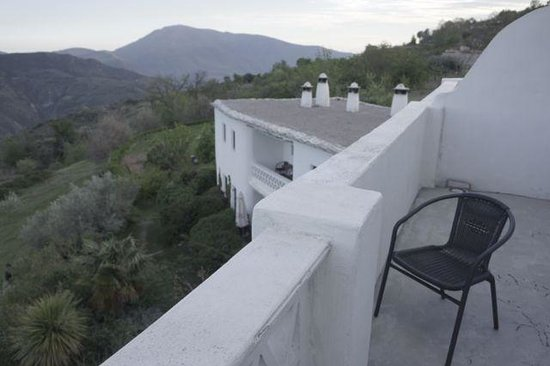 Hotel La Oveja Verde de La Alpujarra: The view from our balcony