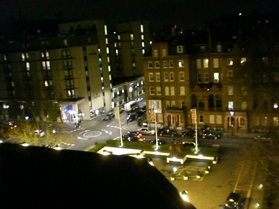 view from my room picture of holiday inn london. Black Bedroom Furniture Sets. Home Design Ideas