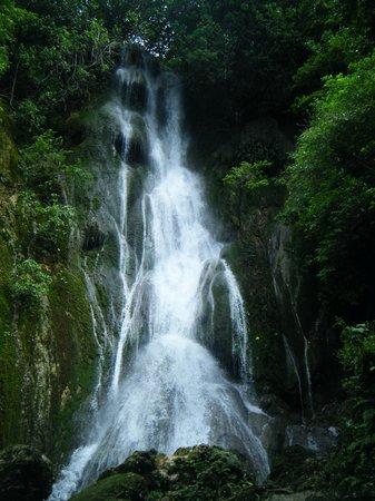 Hideaway Island Resort & Marine Sanctuary: Mele Cascades Waterfall - a must do!