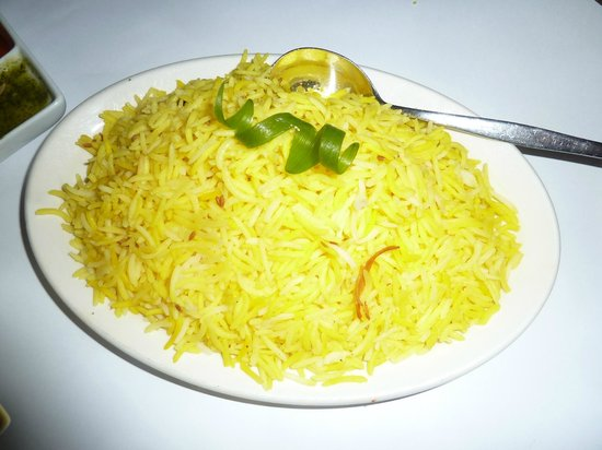 Curry King: Saffron rice