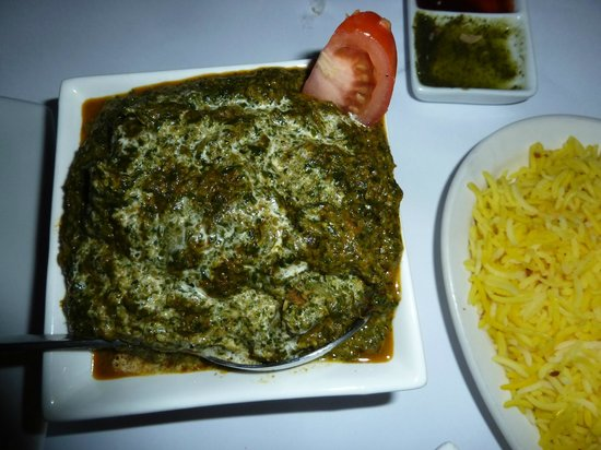 Curry King: Saag Gosht - lamb with spinach