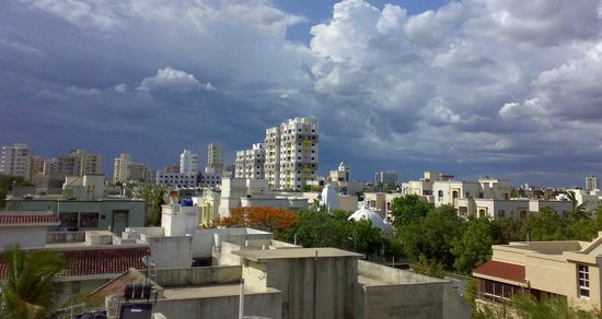 Rajkot, India: Skyline