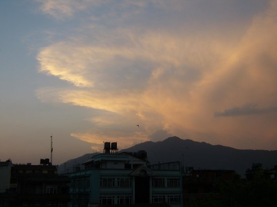 The Happily Ever After Hostel: View from the hostel's rooftop