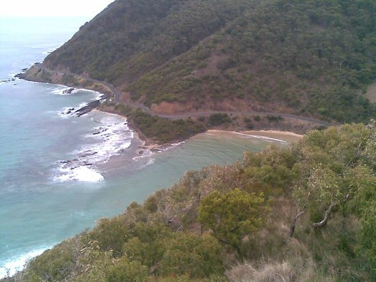 The Sandridge: View from Teddys lookout