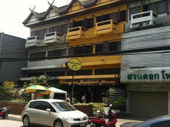 Chiangmai Backpack House: 宿外観