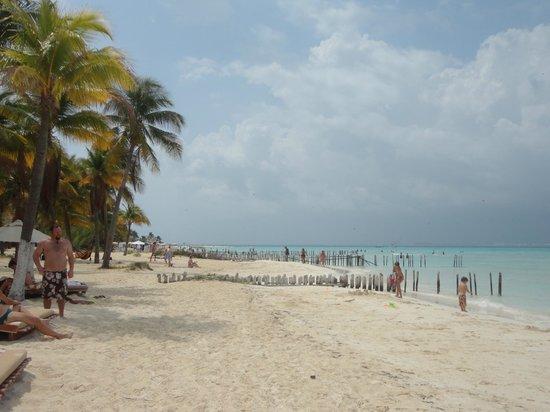 Na Balam Beach Hotel: Beach area