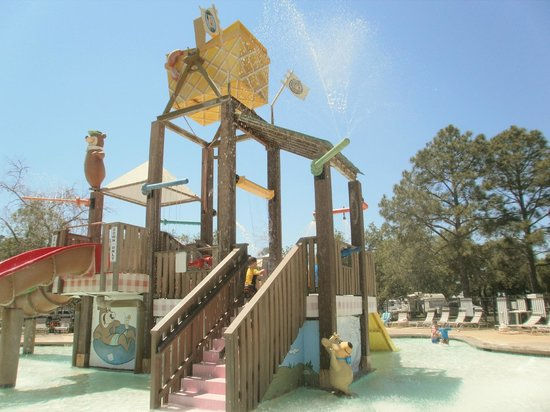 Lone Star Jellystone Park: Feature Pool