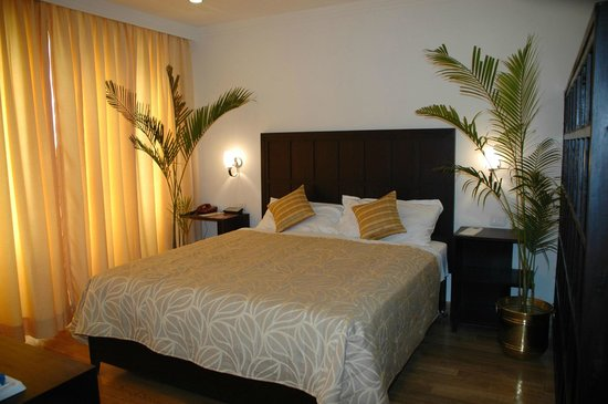 The Janpath Hotel: Large Bed Executive Room
