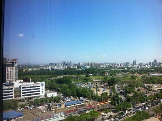 Beijing Marriott Hotel Northeast: View from the 12th Floor