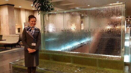 President Hotel: Рабочяя командировка)))