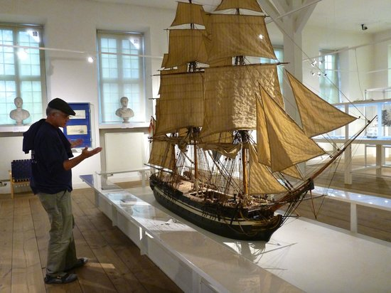The Royal Danish Naval Museum: Amazing scaled details