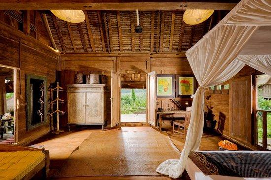 Bambu indah afrika house interior