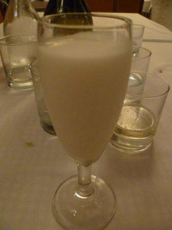 Ristorante Dei Pescatori: Lemon Sorbetto