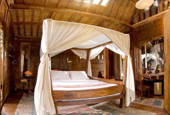 Bambu indah kuno house interior