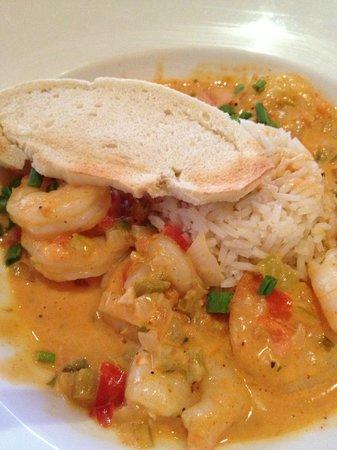 French 25: Shrimp Etoufee