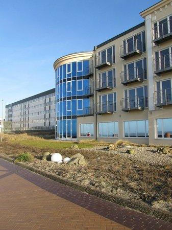 Strandhotel Georgshöhe: von der Promenade
