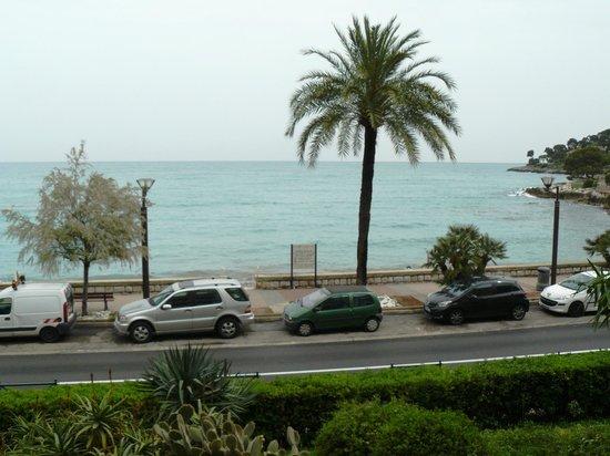 Hotel Victoria: La vue de notre terrasse