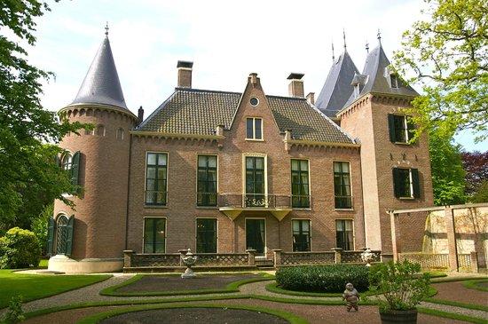 Lisse, Niederlande: Kasteel Keukenhof; vooraanzicht kasteel