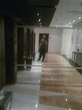 Novotel Al Anoud : Lift Area