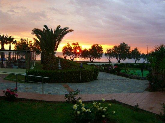 Oasis Hotel: Sunset