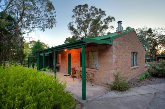 Murray Gardens Motel & Cottages: Cottage Verandah