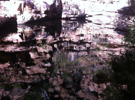Moremi Gorge: Pool