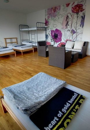 Heart of Gold Hostel: Zimmer