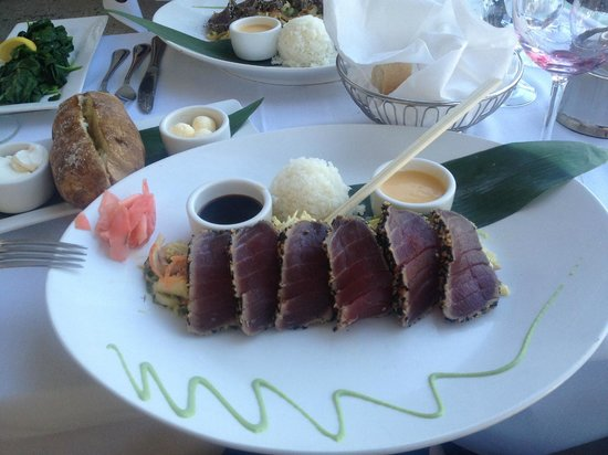 Ahi tuna picture of a fish called avalon miami beach for Fish call review