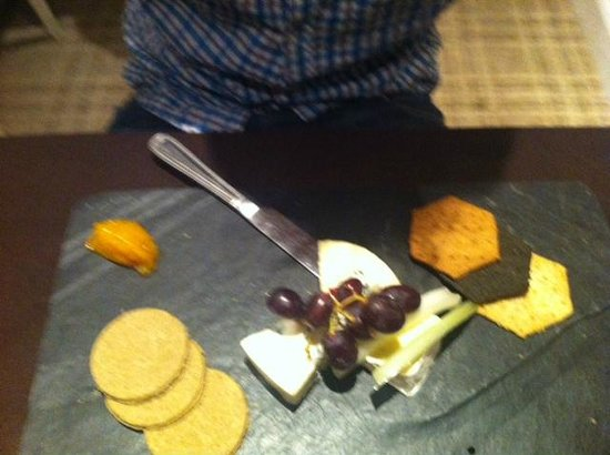 The Green Hotel: Cheese Board