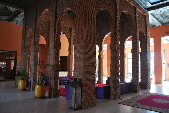 Club Dar Atlas: le salon d'accueil