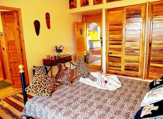 La Villa du Lac: CHAMBRE AFRICAINE