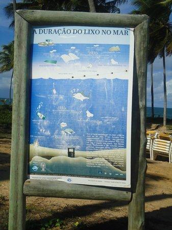 Iberostar Praia do Forte: Preocupação com o ambiente