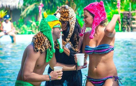 The Manic Monkey Crew: Party hats!