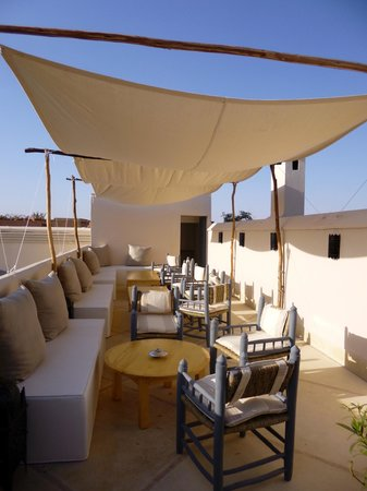 Riad Adore: Roof terrace