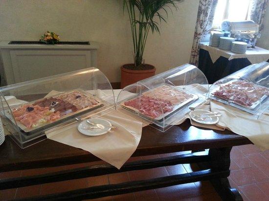 Palazzo Arzaga Hotel Spa & Golf Resort: Breakfast selection