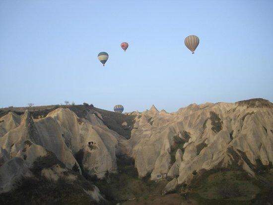 Atmosfer Balloons : Vol en montgolfière