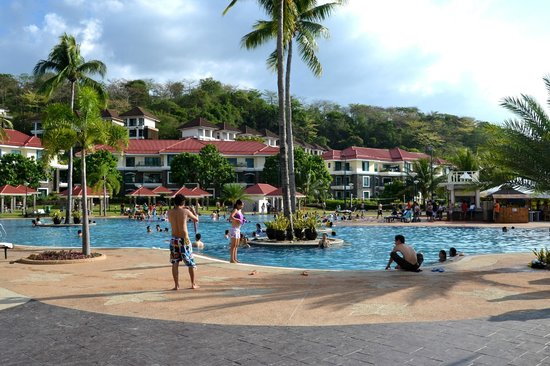 Another View On The Swimming Pool Picture Of Canyon Cove Beach Club Nasugbu Tripadvisor