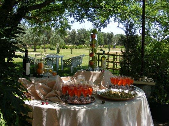Aperitivo in giardino foto di sa mariga assemini for Cucinare per 40 persone