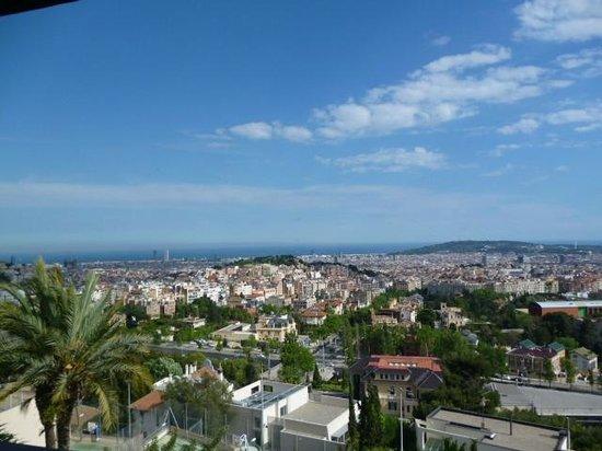 B-Hotel: View from Mirablau Bar