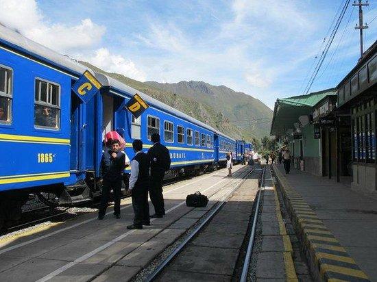 El Albergue Ollantaytambo: On track!