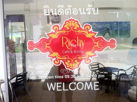 Richy: welcome